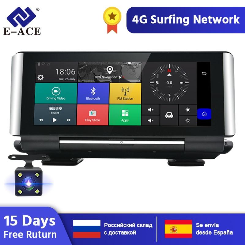 E-ACE E01 samochód DVR GPS 4G nawigacja Tracker 7