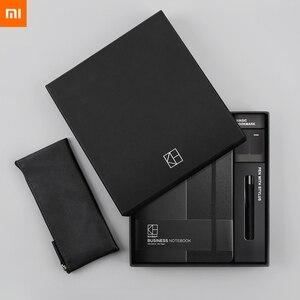 Image 2 - Новый деловой костюм Xiaomi Kinbor ручка блокнот закладки пенал офисный Подарочный костюм практичный высококачественный