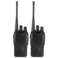 """רדיו ווקי 2pcs / הרבה Baofeng BF-888S ווקי טוקי UHF שני הדרך רדיו Baofeng 888s UHF 400-470MHz 16CH Portable מקמ""""ש עם אפרכסת (3)"""