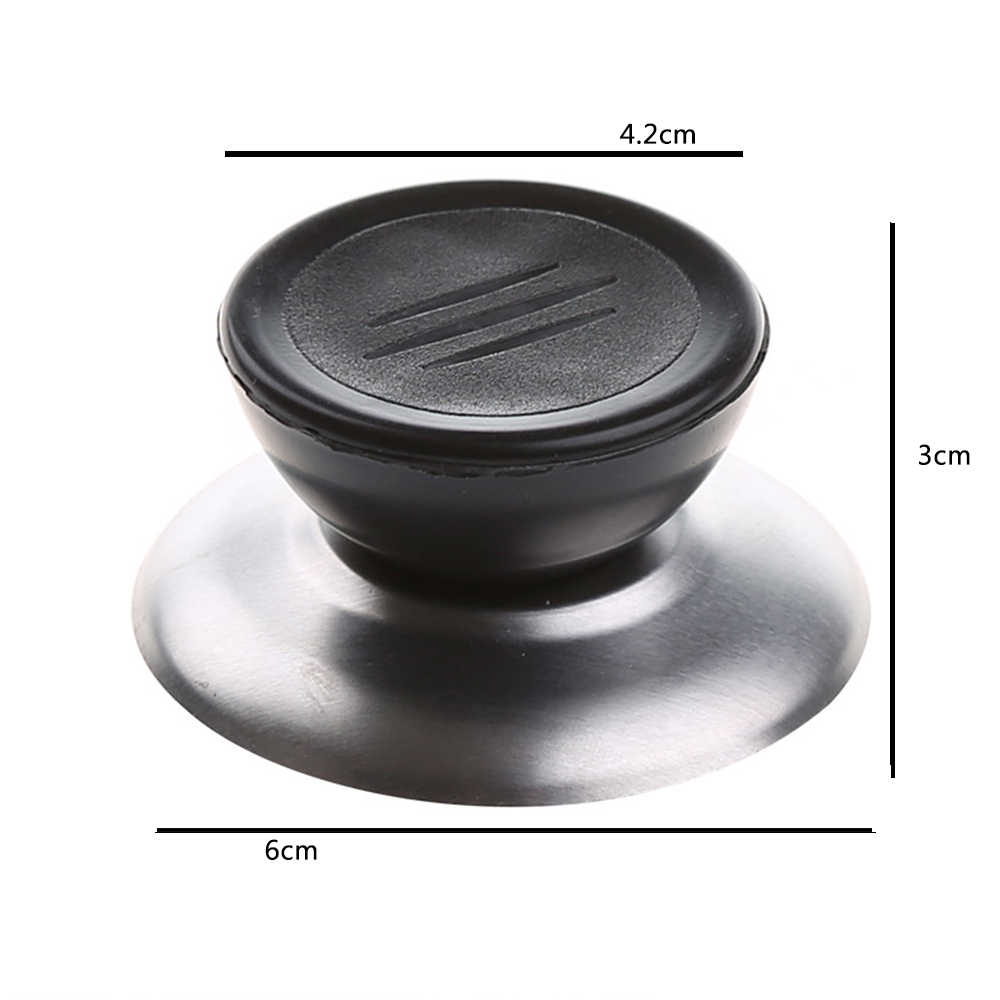 Universal Keuken Kookgerei Vervanging Gebruiksvoorwerp Pot Pan Deksel Cover Circulaire Holding Knop Schroef Handvat Keuken Gadget Set