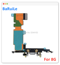 BaRuiLe 5 pièces Port de charge câble flexible pour iPhone 8 Plus 8G 8plus USB Dock connecteur chargeur Audio Jack pièces de réparation