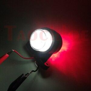 Image 5 - 2Pcs Marker Lichter Für Auto Anhänger Position Licht Lkw Traktor Hinten Freiheit Lampe LED Rot Weiß 12V 24V Parkplatz Seite Lichter