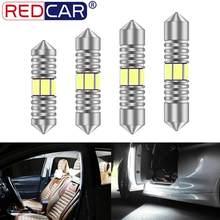 1 pçs c5w c10w lâmpada led festão 31mm 36mm 39mm 41mm canbus led lâmpada de leitura interior do carro luz auto lâmpada da placa de licença dc12v