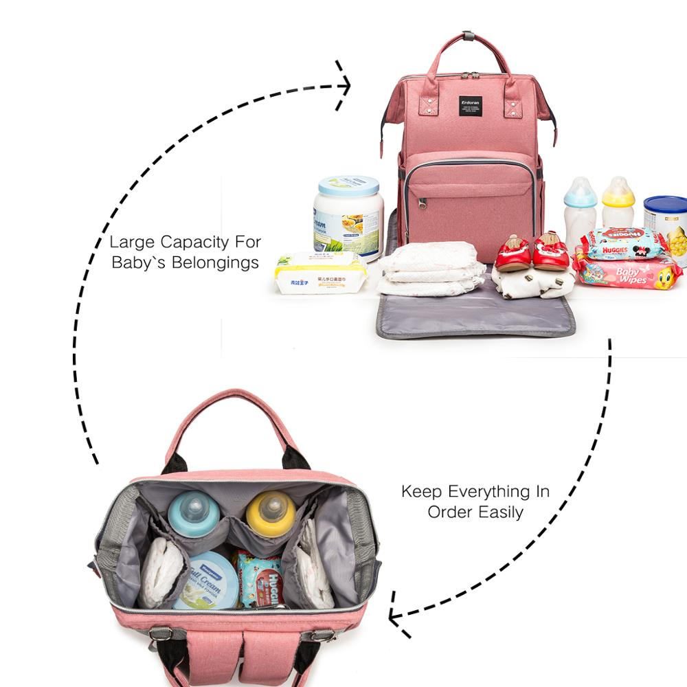 Diaper Bag Backpack Multifunction Large Capacity Baby Travel Nappy Care Bags Maternal Hospital back pack USA FBA distribution