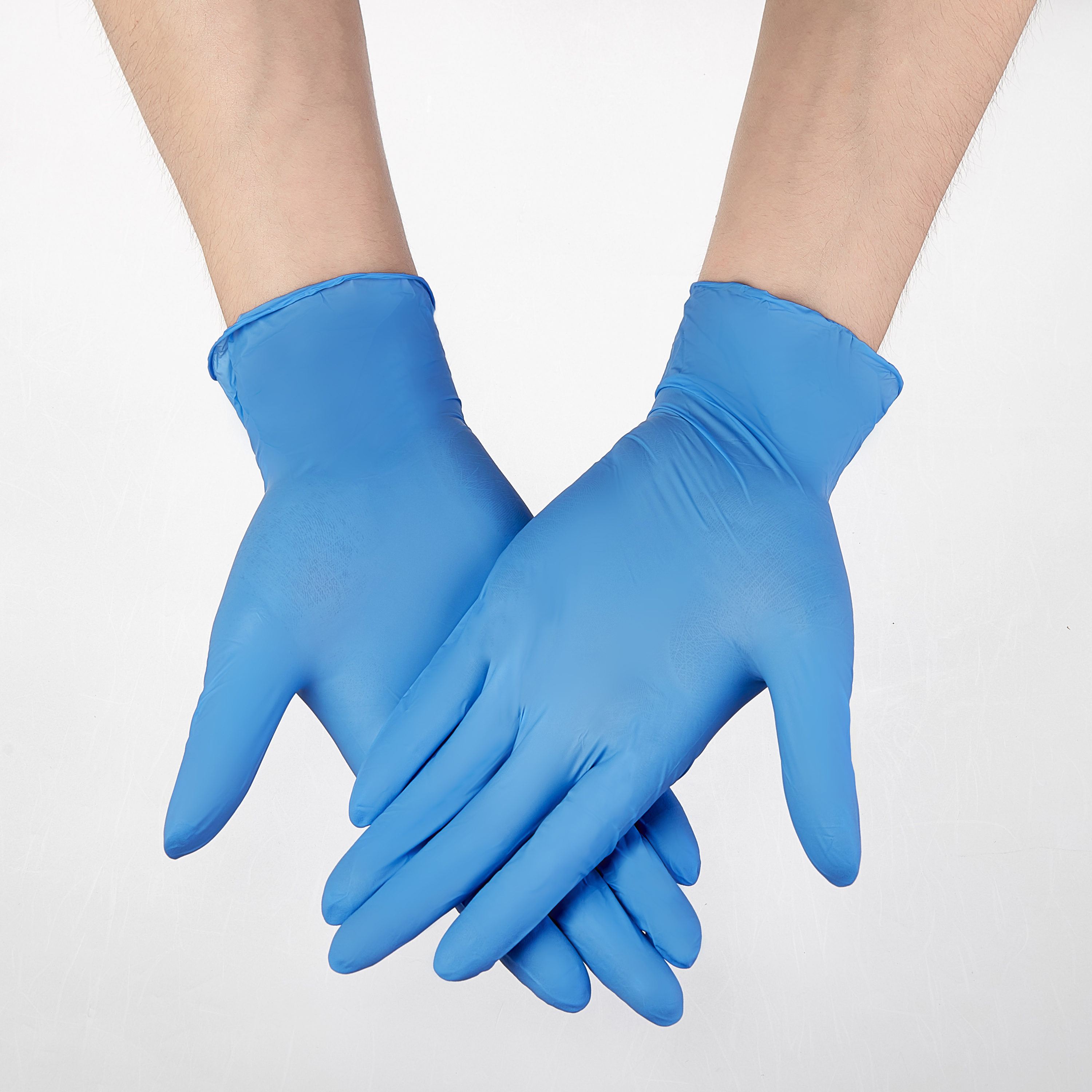 100PCS Blue Guantes 9Inch Nitrile Gloves Disposable Work Gloves Household Cleaning Washing Safety Gloves Free Mechanic Synthetic