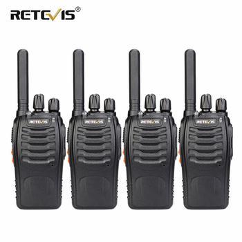Walkie Talkie 4 sztuk Retevis H777 Plus PMR446 walkie-talkie PMR Radio FRS H777 poręczny dwukierunkowe Radio stacji kabel USB do ładowania dla Hotel