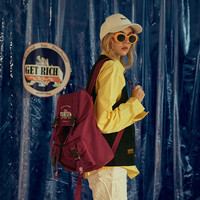 2019 new Korean version of the wild fashion ins wind super fire shoulder travel backpack college student bag female