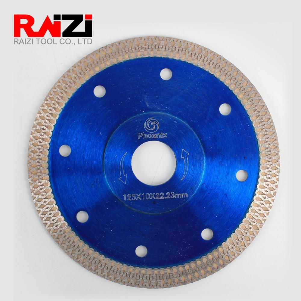 Raizi Tile Cutting Disc Saw Blade For Porcelain Ceramic Tile 115/125/180/230 Mm Diamond Cutting Blade