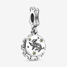 Fashion 100% 925 Sterling Silver Beads  Fit Original Pandora Bracelets Harry Magician Badger Dangle Charm Women DIY Jewelry Gift недорого
