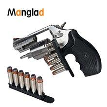 1 шт. 1014010 580 скоростная полоса подходит. 38 или. 357 Калибр удерживает 6 патронов Пуля для револьвера в поясной сумке