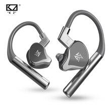 KZ E10 TWS Bluetooth 5.0 אודיו מוסיקה אלחוטי 4BA + 1DD היברידי 5 נהג אוזניות IEM ספורט HIFI AptX Apt  X SBC CVC DSP מיקרופון