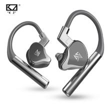 KZ E10 TWS Bluetooth 5.0 Áudio Música IEM 4BA + 1DD 5 Híbrido Driver Do Fone De Ouvido Sem Fio Esportes AptX Apt X SBC CVC DSP de ALTA FIDELIDADE Microfone