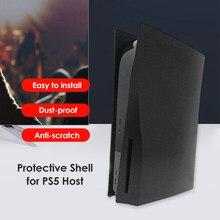 Funda protectora para consola de videojuegos, carcasa protectora de plástico duro para PS5 Disk Edition