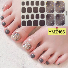 Feet Nail-Stickers Decals-Supplies Manicure Decoration Waterproof Adhesive Mixed DIY