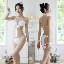 women Black Sexy Lingerie For Women Erotic Lingerie cute Bunny girl Sexy Clothes Babydoll Erotic Fou
