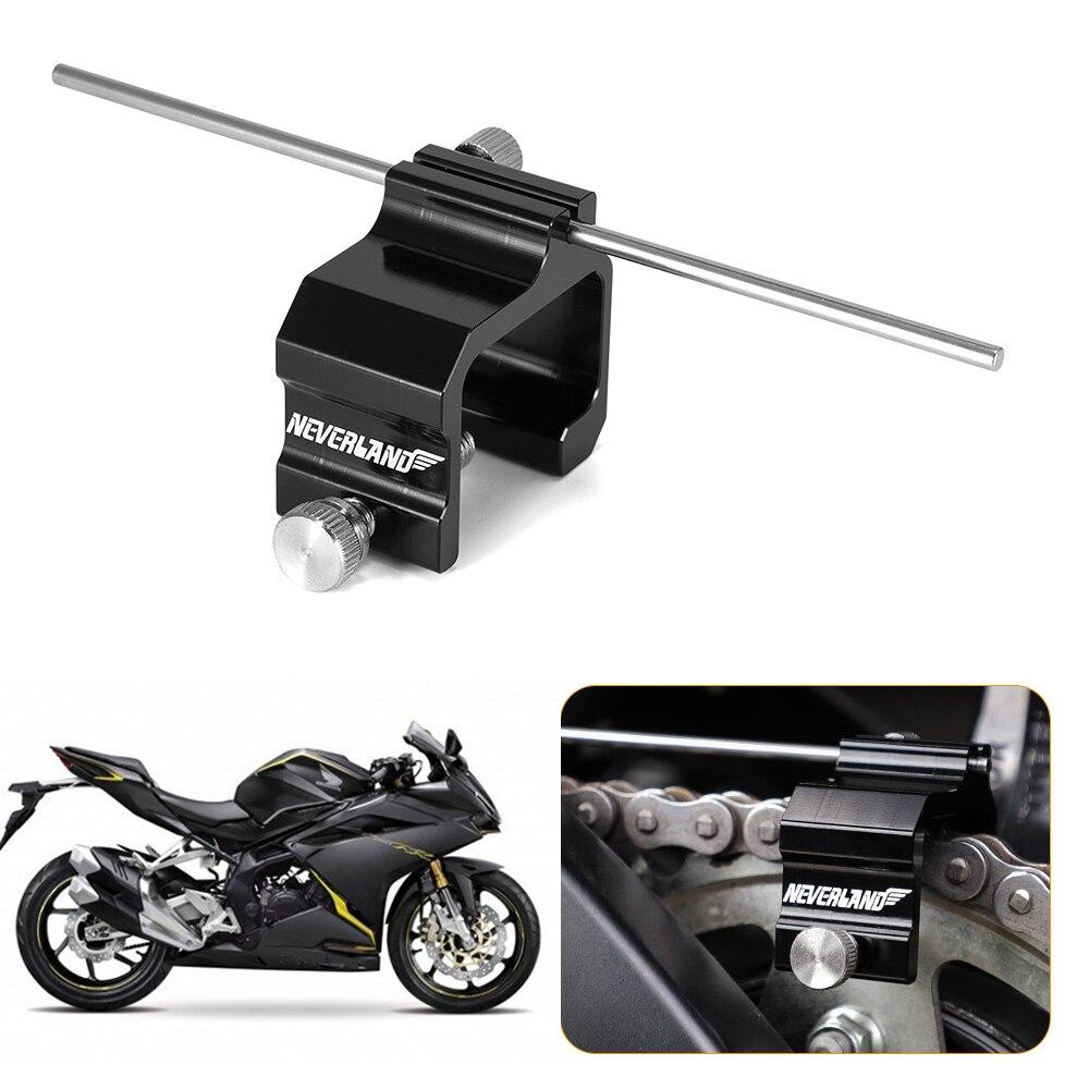 Heavy Duty Universal Rouge Chaîne De Réglage Alignement Outil Moto Moto ATV