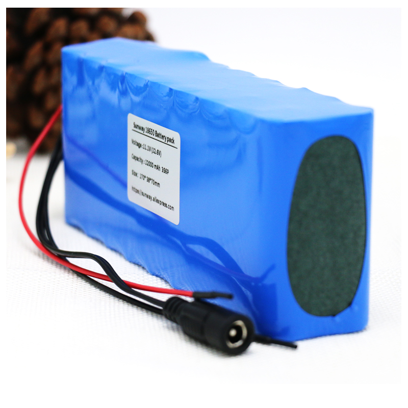 AERDU 3S6P <font><b>15Ah</b></font> 250watt <font><b>12V</b></font> 11.1V 12.6V 18650 <font><b>Lithium</b></font>-ion <font><b>Battery</b></font> Pack Hunting xenon Fishing Lamp LED Outdoor Light Power backup image