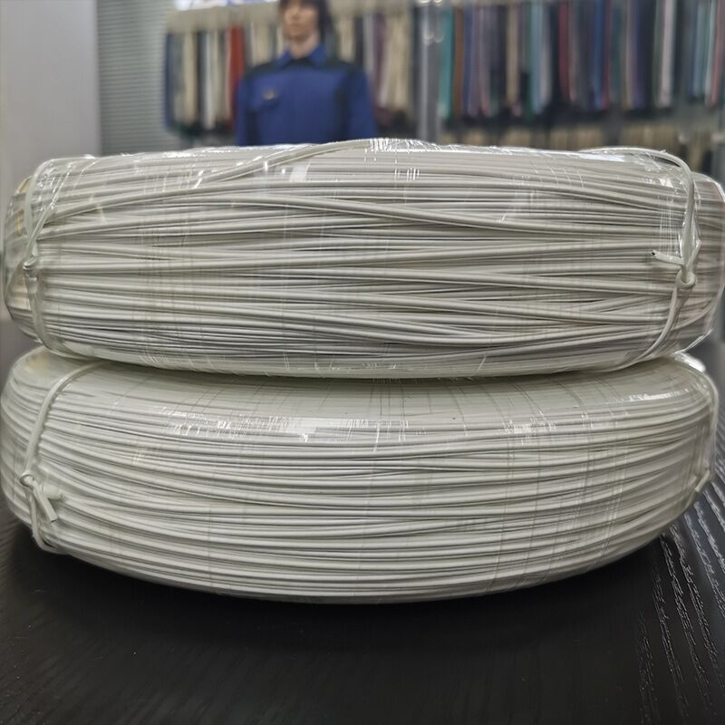 3mm PE Nose Bridge Strip White Single Core Cable Ties FornMask Raw Material 500meter/Roll