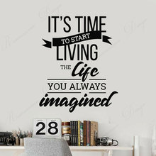 wall stickers school classroom quote phrase lettering words vinyl decals read room decor dorm removable murals wallpaper 4335 Motivational Quote Typography Words Home Idea Wall Stickers Vinyl Home Decor Room Bedroom Decals Interior Design Murals 4349