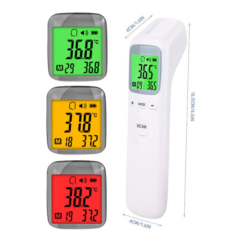 OUTAD Handheld Professional LCD Digital IR Infrared Thermometer Non-contact Electronic Temperature Gun Meter