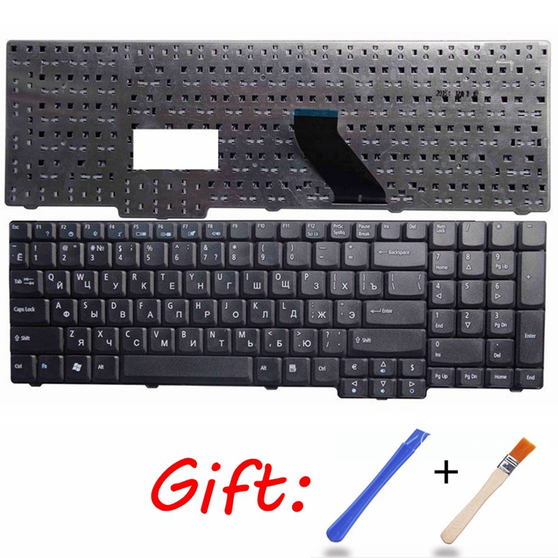 Russian Laptop Keyboard For Acer Travelmate 5100 5110 5600 5610 5620 Aspire 5235z 6530 7720Z 6930 6530G EMachines E528 E728 RU