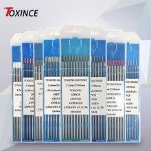 Zawód elektrody wolframowe spawanie TIG pręty WT20 WP WC20 WL20 WL15 WL10 WZ8 WES Tig spawanie argonem pręt