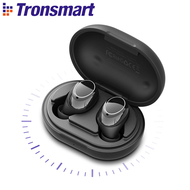 Tronsmart Onyx Neo Bluetooth 5.0 Earphone APTX True Wireless Stereo Earbuds With Qualcomm Chip Volume Control 24H Playtime
