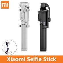 Xiaomi Selfie スティック折りたたみ三脚 Bluetooth Selfie スティックワイヤレスシャッター Selfie スティック ios の android 携帯