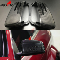 Carbon Fiber For Benz A B C E S CLA GLA CLS Class W176 W246 W204 W212 C207 C117 X156 Side Wing Rearview Mirror Shell Cover Caps