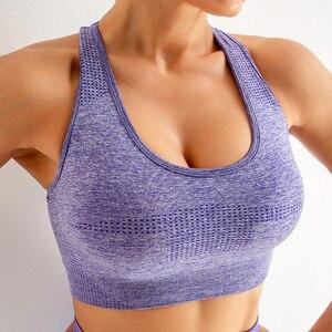 5 Color Women Vital Seamless Sport Bra Push Up Sports Bra Workout Bras Sports Wear for Women Gym Fitness Sportswear Mujer Top