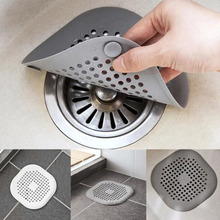 Floor-Drain-Cover HAIR-FILTER Kitchen-Sink-Anti-Clogging Bathroom Silicone