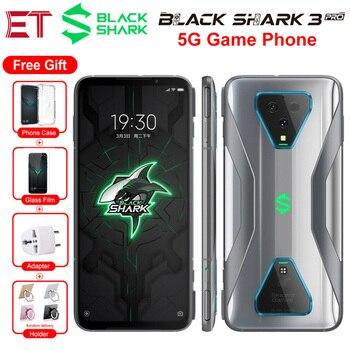 Купить Новый Xiaomi Black Shark 3 Pro 5G игровой мобильный телефон Глобальная версия 7,1 дюйм12 Гб 256 ГБ Snapdragon 865 64MP 5000 мАч Android смартфон