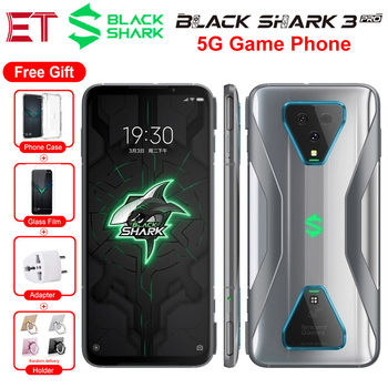 "New Xiaomi Black Shark 3 Pro 5G Game Mobile Phone Global Version 7.1"" 12GB 256GB Snapdragon 865 64MP 5000mAh Android Smart phone"