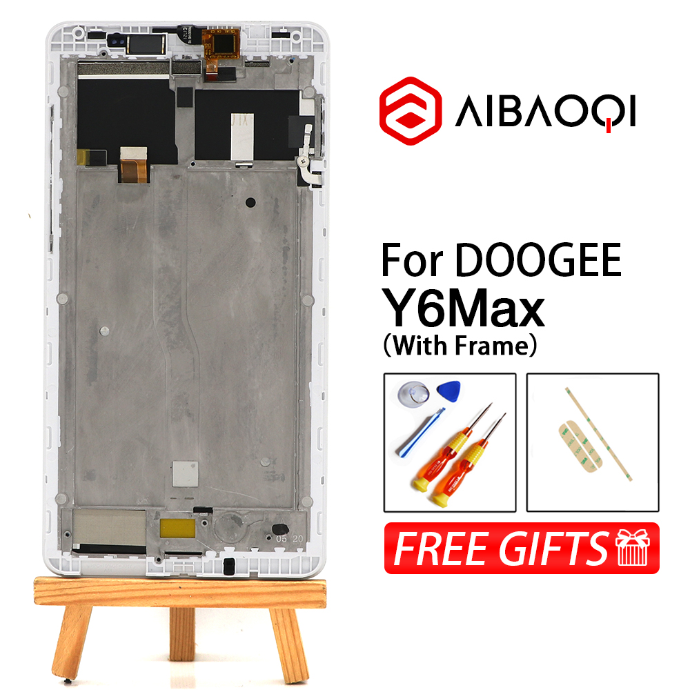 AiBaoQi New Original 6 5 inch Touch Screen 1920X1080 LCD Display Assembly Replacement For Y6 Max