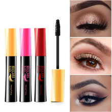4D Black Curling Mascara Ink Rimel Eye Lash lengthening Smudge-proof Waterproof Eyelash Fiber Makeup Extension Volume