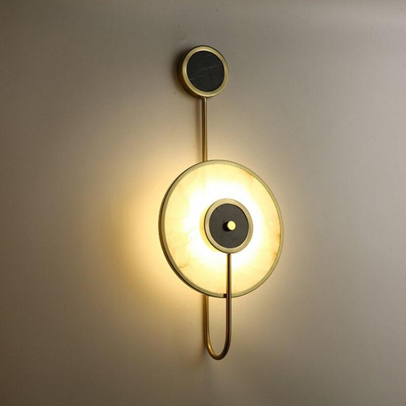 Купить декоративный мраморный настенный светильник tiooka в китайском