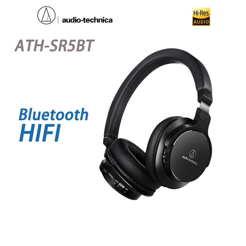 Audio Technica ATH-SR5BT Portable HIFI Head-mounted Wireless Bluetooth Headset