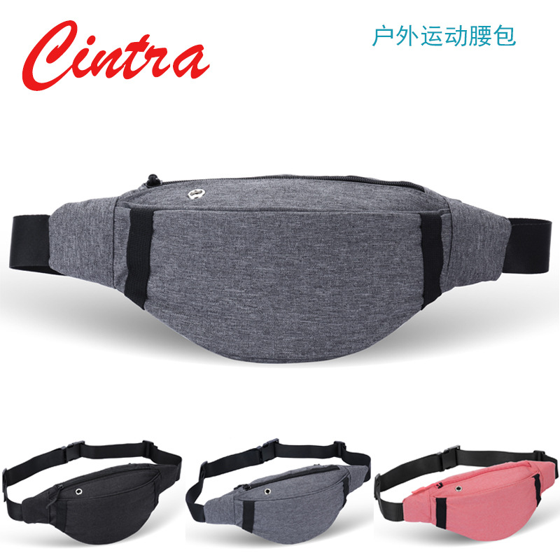 Sports Bag Men Multi-functional Phone Bag Oxford Cloth Chest Pack Hot Selling Hot Selling Waist Pack
