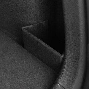 Image 5 - Xburstcar 자동차 트렁크 부팅 배플 파티션 부품 꼬리 상자 스토리지 액세서리 폭스 바겐 폭스 바겐 골프 7 7.5 MK7 MK7.5 2013   2019