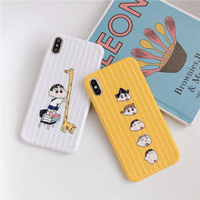 Crayon Shinchan Bagage Gevallen Voor OPPO A3 A5 A3s A7 A7X A9 A9X Zachte Siliconen Cover voor OPPO R11 R11s r15 X K1 R17 K3 Realme Reno(China)