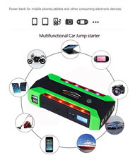 12V 4USB High Power Car Battery Charger Starting Car Jump Starter Booster Power Bank Kit For Car Auto Starting Device
