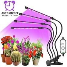 Goodland Luz LED de cultivo Fitolampy, Lámpara USB de espectro completo, con Control para plantas semillas, flores, interior, protector de cultivo