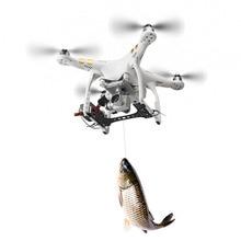Djiファントム 3 標準 3 s 3A 3 1080p P2 輸送放射器shinkichon pelter魚の餌広告リング釣り宣伝ホルダー