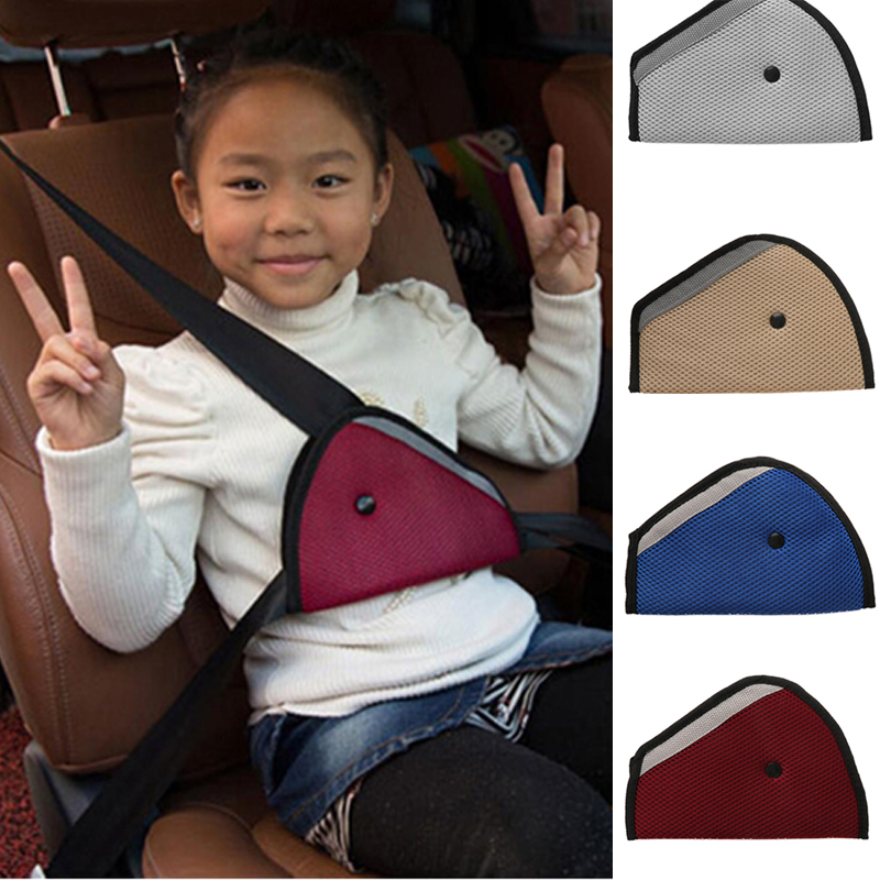 Kids Accessories Child Protector Car Seat Belts Adjuster Triangle Clip Safety
