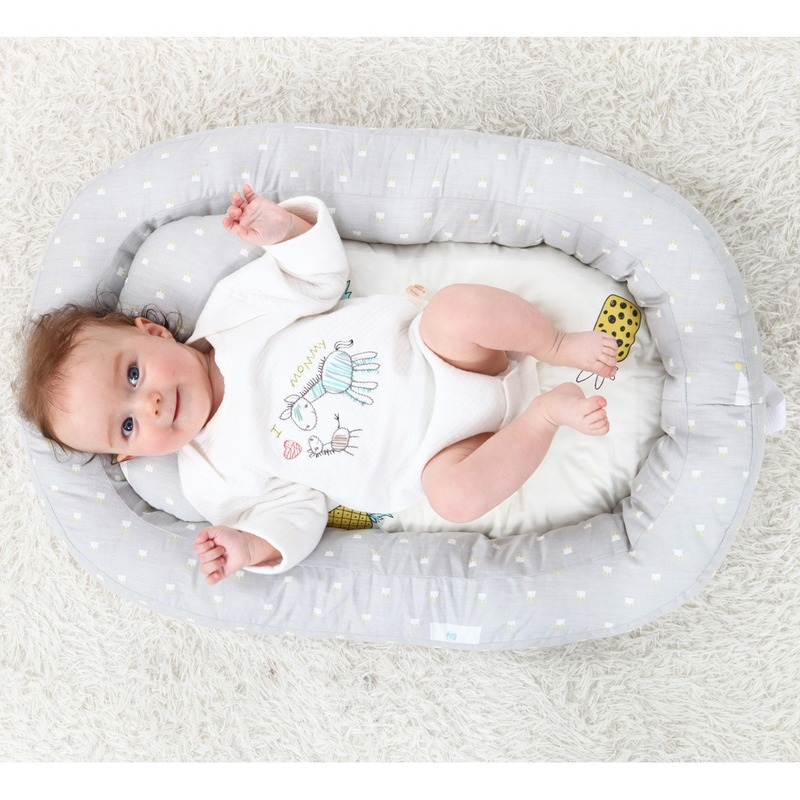 Newborn Lounger Baby Nest Bed For Soft Infant Cotton Crib Toddler Bed Baby Nursery Carrycot Co Bionic Bed Washable Bb Bed In Bed