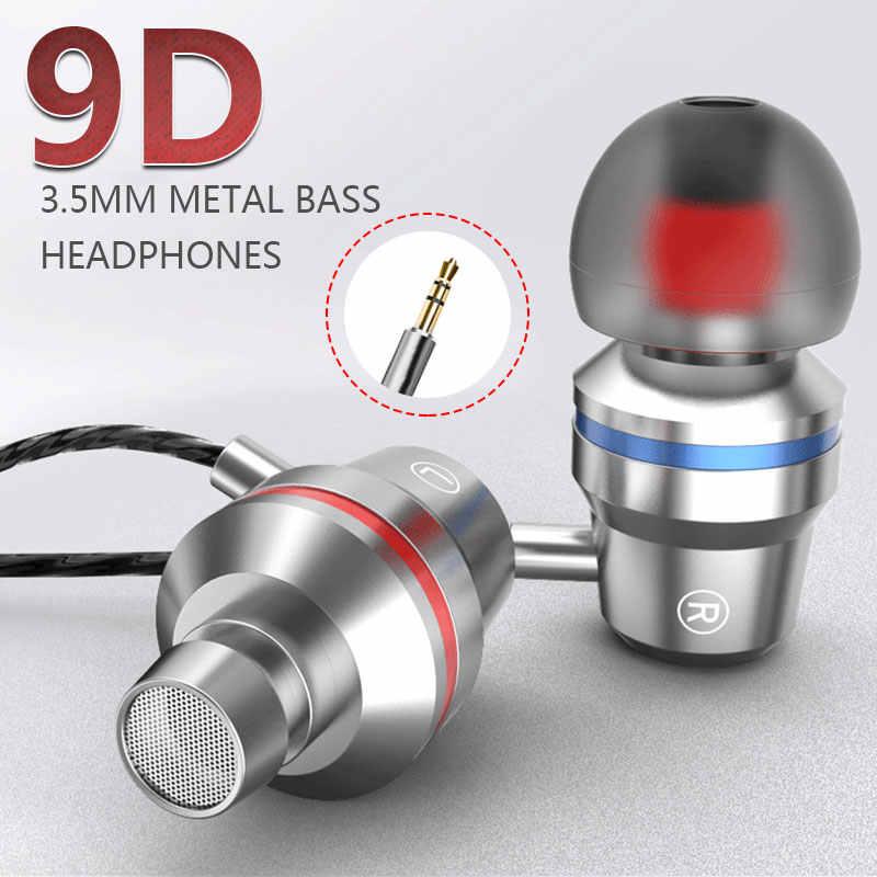 3.5mm אוזניות עמוק בס HiFi באיכות גבוהה נייד אופנה משחק מחשב בחדות גבוהה אוזניות אוזניות