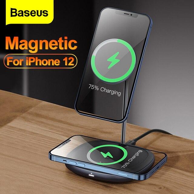 Baseus 2 в 1 магнитное беспроводное зарядное устройство 20 Вт 1