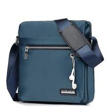 VORMOR bolsa de negocios de diseño clásico para hombre, bandolera de marca Vintage para hombre, bolsa de hombro informal con rejilla