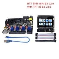 BIGTREETECH-placa base BTT SKR MINI E3 V2.0 TFT35 E3 V3.0, pantalla táctil TMC2209UART TMC2208 para Ender 3, actualización CR10 PRo SKR V1.4