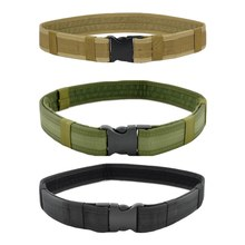 Outdoor Tactical Heavy Duty Multifunctional Adjustable Hiking Climbing Load Bearing Utility Waistband Belt Sport Belt(China)